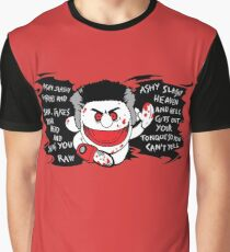 Ashy Slashy Hatchet and Saw Ash Vs Evil Dead T-Shirt Graphic T-Shirt