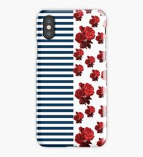 Red White and Blue match up iPhone Case/Skin