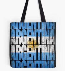 Argentina Flag Messi Tote Bag