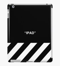 OFF-WHITE Inspired Simple Wording Illustration  iPad Case/Skin