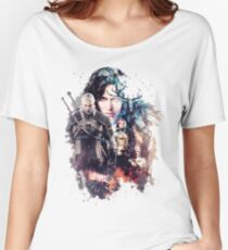 The Witcher - Hunt your enemies Women's Relaxed Fit T-Shirt