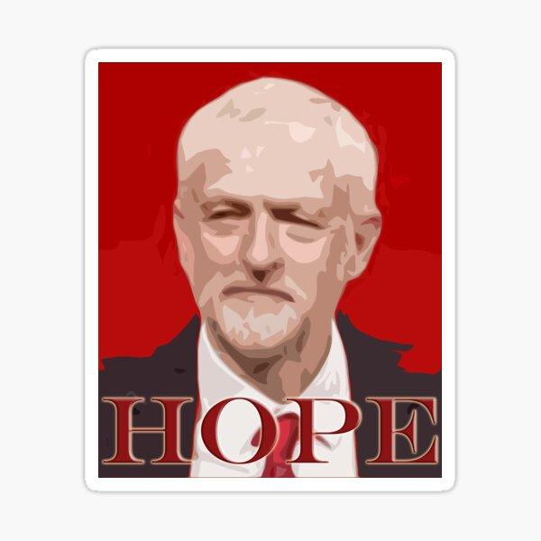 Jeremy Corbyn Hope 2017 Sticker