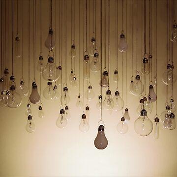 Hanging Lightbulbs 2 by Dyceus