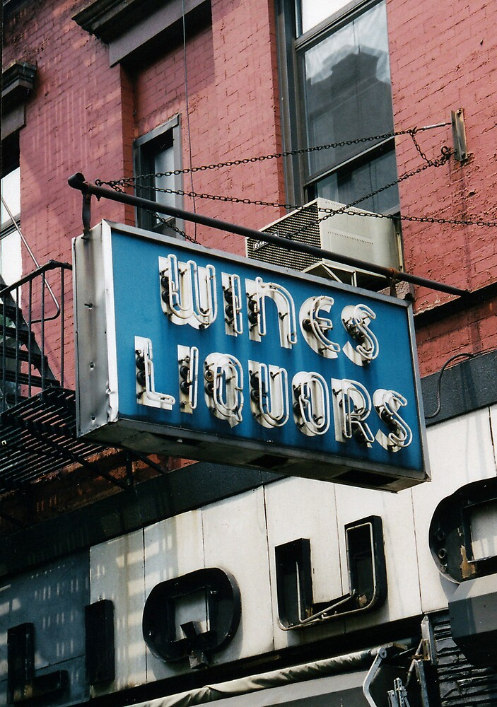 Wines and Liquors by ZeroesandOnes