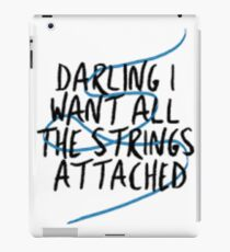 shawn mendes strings iPad Case/Skin
