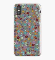 Playful Watercolor dots pattern iPhone Case/Skin