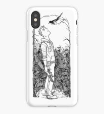 Eyes on the Sky iPhone Case/Skin