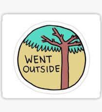 """Went Outside"" Little Achievements Sticker"