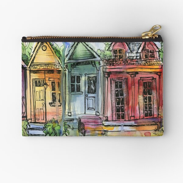 Laurel Street, New Orleans Zipper Pouch