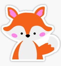 Cute Fox Sticker
