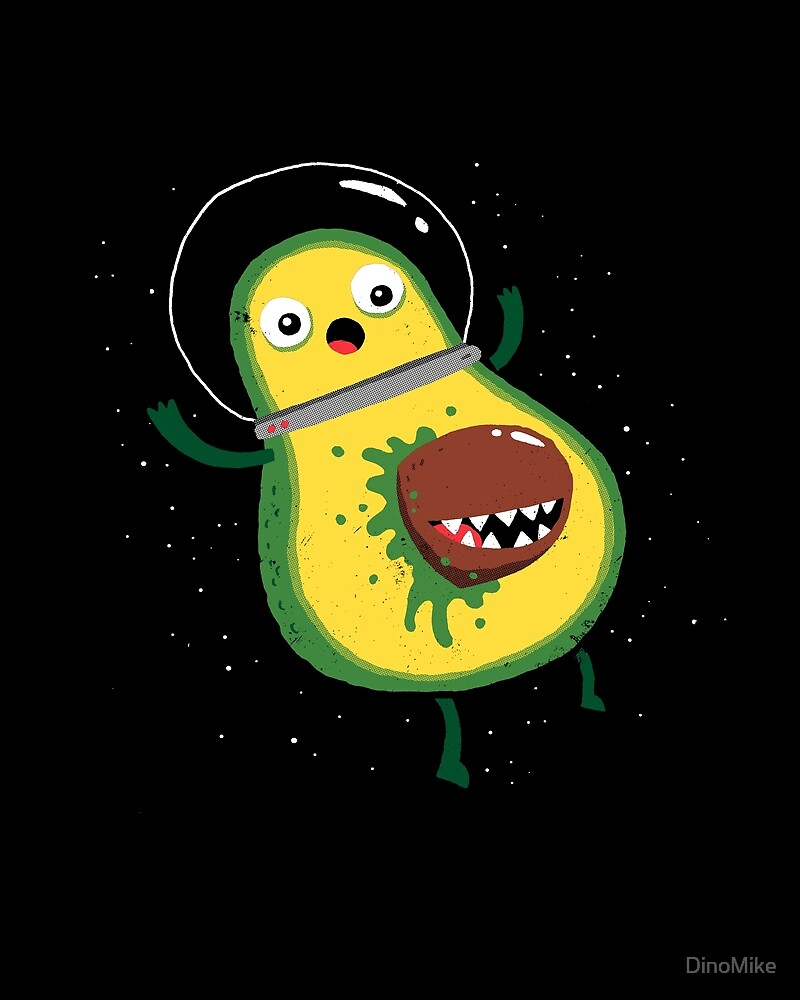 Alien: Avocado by DinoMike