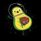 Alien: Avocado by DinoMike