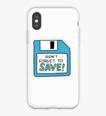 """""""Remembered to Save"""" Little Achievements iPhone Case"""