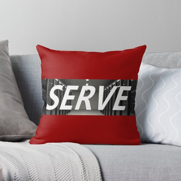 Do Not Obey. Serve Throw Pillow