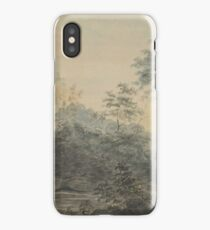 Landscape with bridge, by Michael Rooker. iPhone Case/Skin