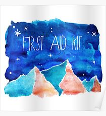 FIRST AID KIT Poster
