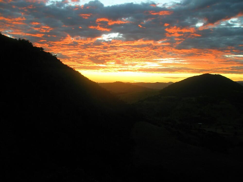 Mountain Sunrise by Melissa Park