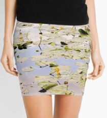 Nuphar Lutea Flowers Mini Skirt
