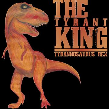 Tyrannosaurus Rex - Hand Drawn With Prismacolor by mlubbe