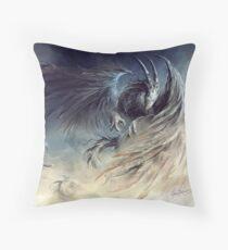 The Guardian of Dream - © Art by Élian Black'Mor Throw Pillow