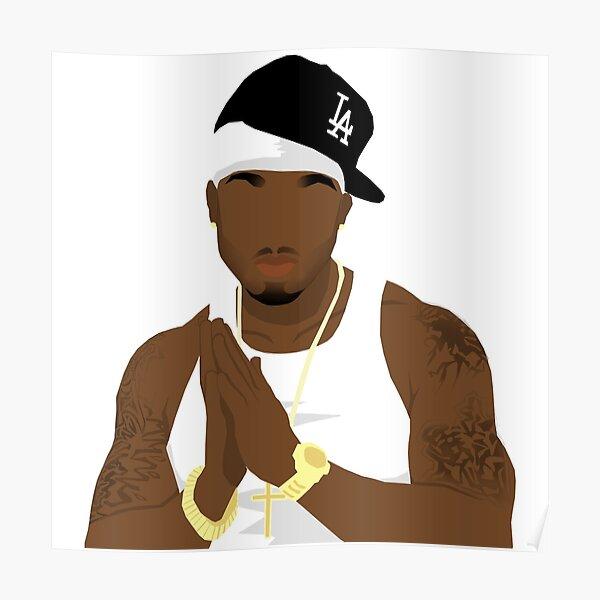 TORY LANEZ Poster Print Hip Hop Rap DJ Celebrity MULTIPLE SIZES 1