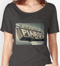 B.T.Faith Pianos Women's Relaxed Fit T-Shirt