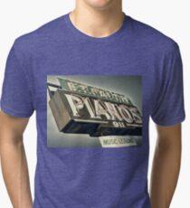 B.T.Faith Pianos Tri-blend T-Shirt
