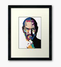 Steve Jobs portrait Framed Print