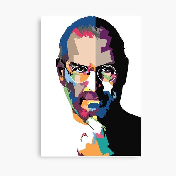 Steve Jobs portrait | Steve Jobs painting  Canvas Print