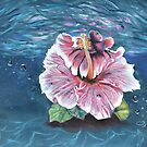 « Betta Splendens et Hibiscus » par cindybarillet