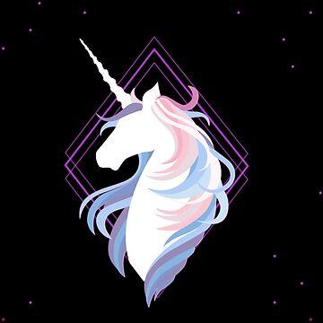 Neon Unicorn by Gamerama