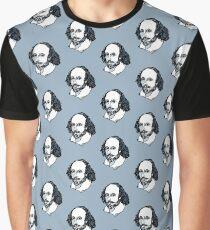 William Shakespeare : The Bard Graphic T-Shirt