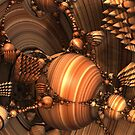 Polished Wooden Sculptures by James Brotherton