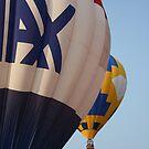 hot air balloons remax at callaway gardens georgia by Sheila McCrea