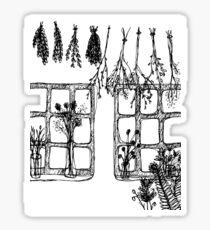 Flora and Fauna Sticker