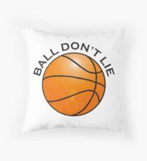 BASKETBALL, SPORT, BALL DON'T LIE, USA, America, American Throw Pillow
