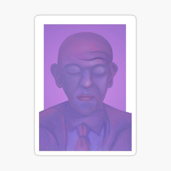 Man in a Suit Sticker