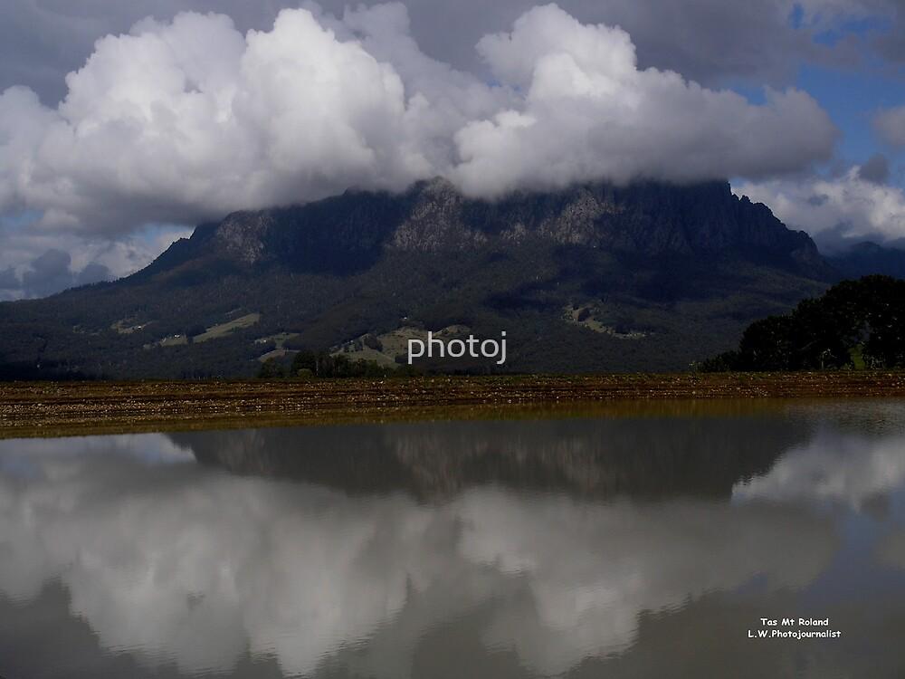 photoj Tas Mt Roland, 'Stormy Weather' by photoj