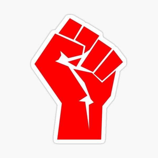 Fist of Revolution Sticker