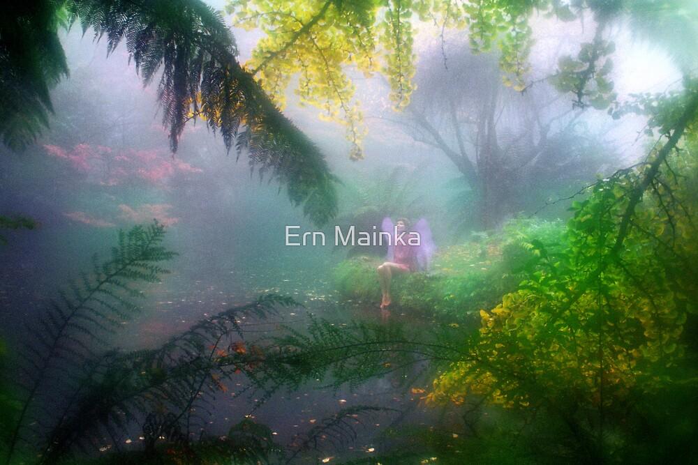 Mystic Lake III by Ern Mainka