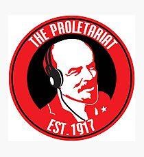 Proletariat - Lenin Photographic Print