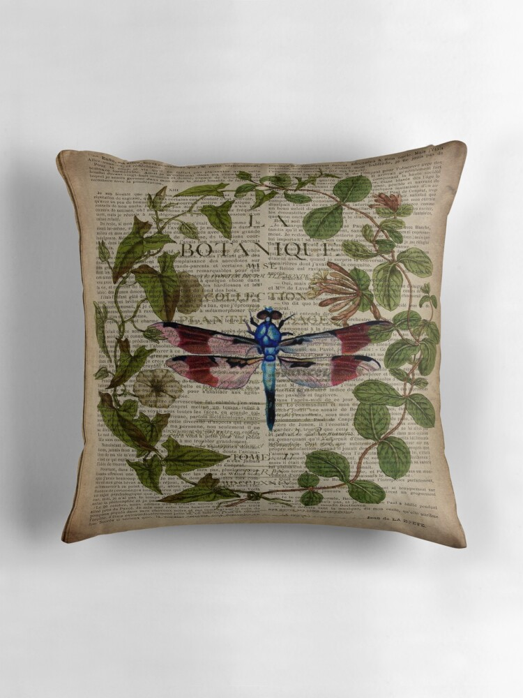 Modern Botanical Pillow :