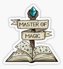 D&D - Mage - Master of Magic Sticker