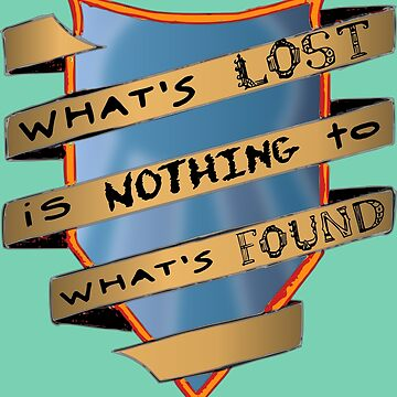 What's lost is nothing to what's found - Frederick Buechner by tompanter