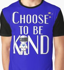 Choose to Be Kind - Wonder Positive Anti-Bullying Message Graphic T-Shirt