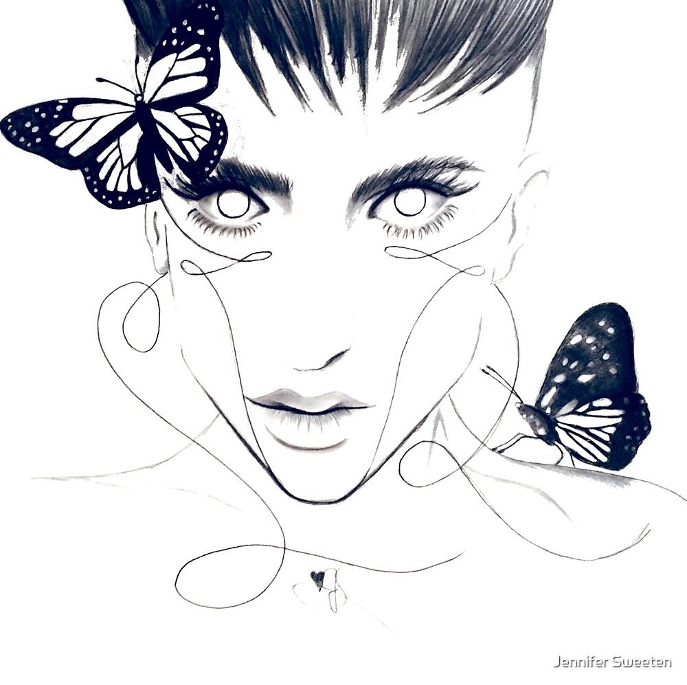 Butterfly by Jennifer Sweeten