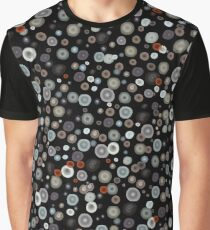 Playful Watercolor dots pattern Graphic T-Shirt