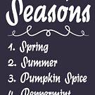 Liste der Jahreszeiten von kjanedesigns
