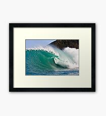 Green Perfection Framed Print