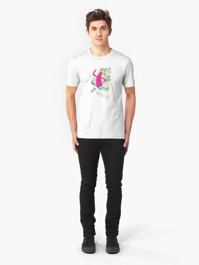 Alternate view of Hey Disco Slim Fit T-Shirt